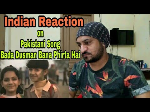 Indian Reaction to Pakistani Song Bada Dushman Bana Phirta Hai / Vicky Kee