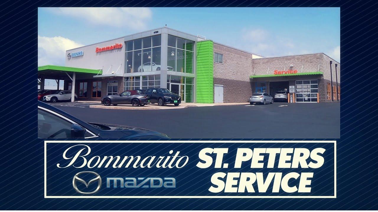 Bommarito St Peters >> St Peters St Louis Mo Mazda Service Bommarito Mazda St