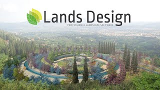 Lands Design, professional landscape software for Rhino and AutoCAD
