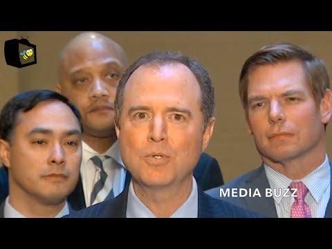 Adam Schiff and Democrats Press Conference On Russia Collusion Investigation Ending 3/13/18