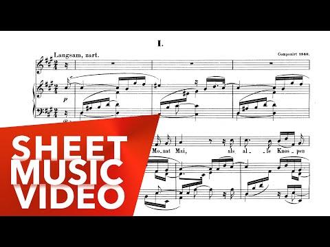 Dichterliebe Complete - Fritz Wunderlich - Schumann