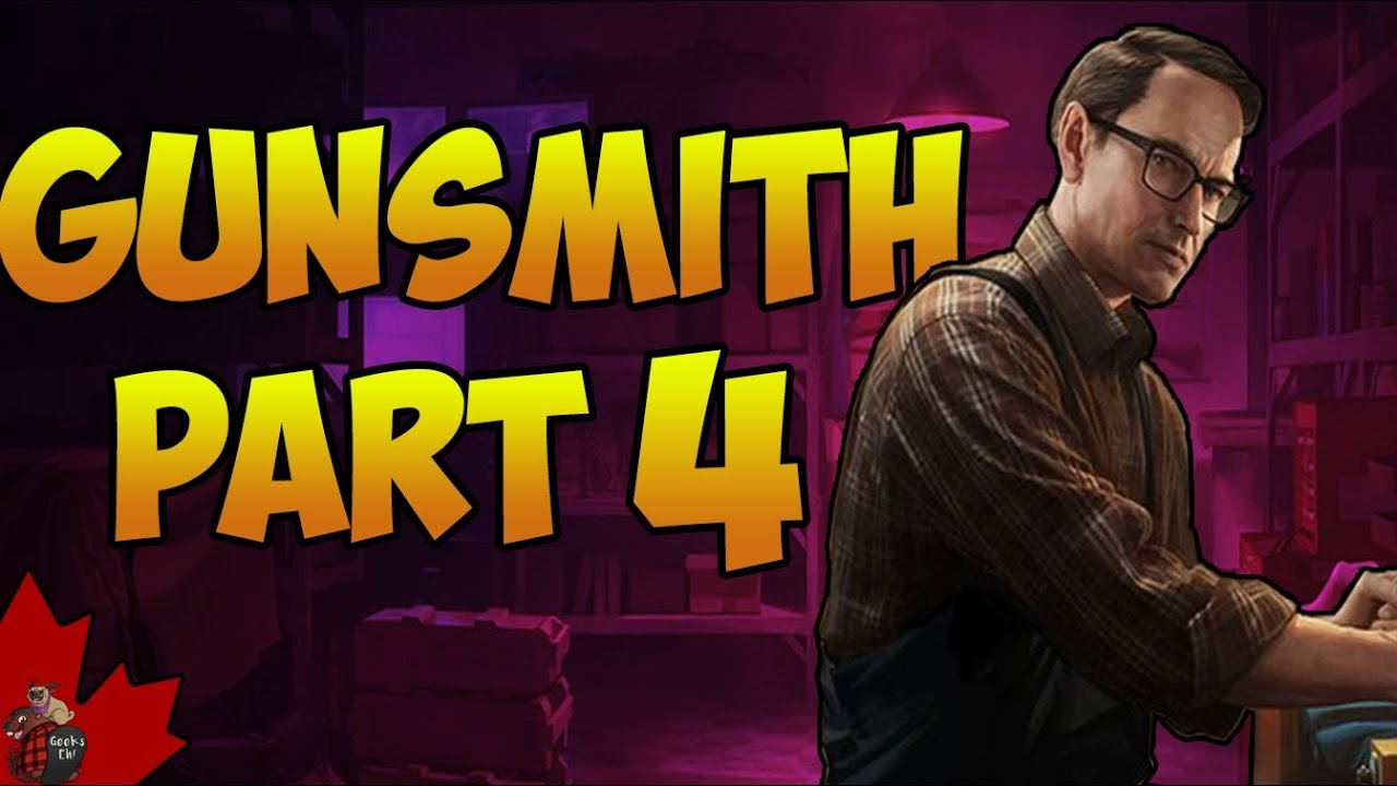 Escape From Tarkov Gunsmith Part 4 Guide Allgamers A wide variety of the gunsmith options are available to you, such as color. escape from tarkov gunsmith part 4