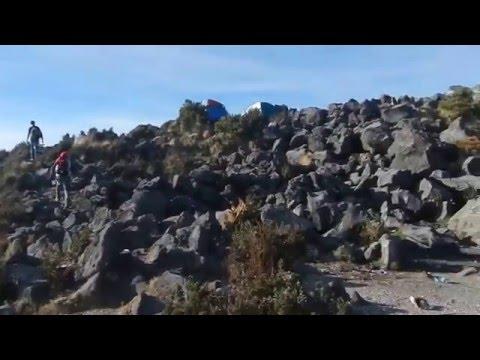 Volcán Santa María - Feliz cumbre!