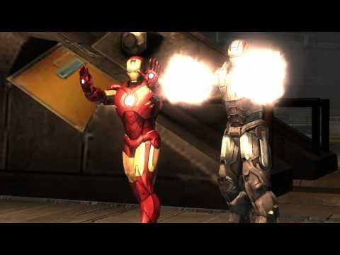 Iron Man 2: The Video Game - War Machine Trailer