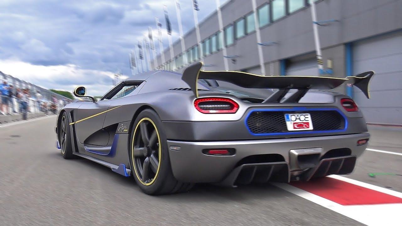 Koenigsegg Agera Rs Engine Start Amp Accelerations Youtube