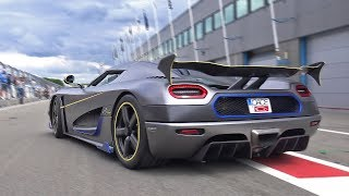 Koenigsegg Agera RS - Engine Start & Accelerations!