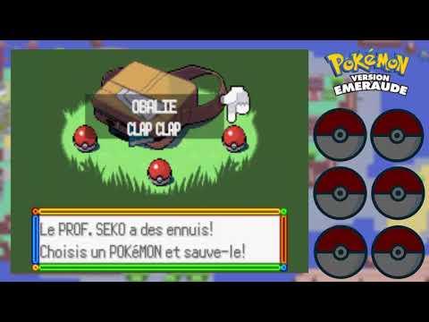 Let's Play Pokémon Émeraude Partie 1: Des starters inédits!