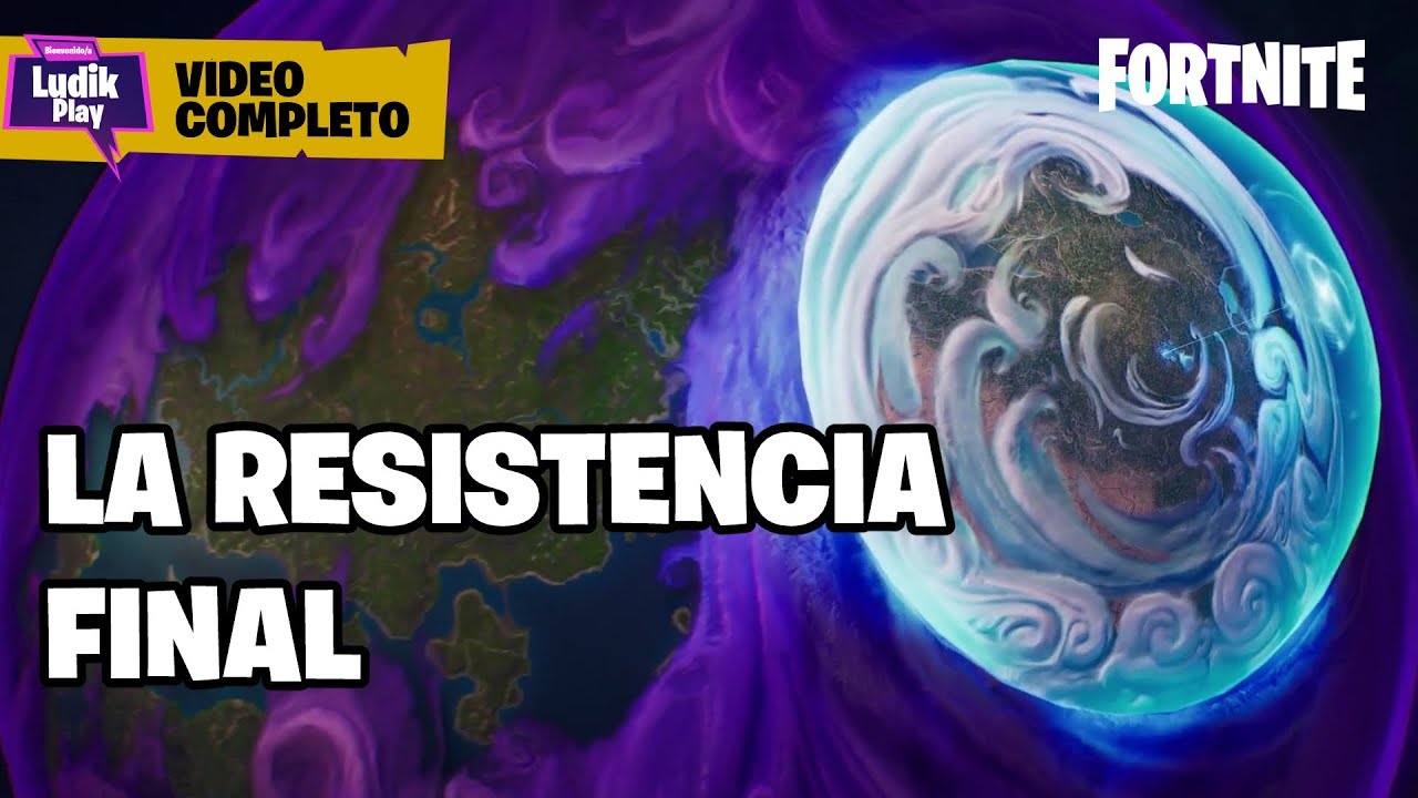 LA RESISTENCIA FINAL - VIDEO COMPLETO | FORTNITE SALVAR EL MUNDO | DEMO ESTROPAJOS