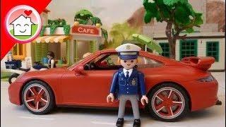 Playmobil City Action Polizei  Kommissar Overbeck Folge 1 - Der verschwundene Porsche