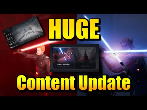 Jedi Fallen Order - HUGE CONTENT UPDATE (Battle Mode, New Game Plus, Playable Inquisitor Cal more) from YouTube · Duration:  3 minutes 42 seconds