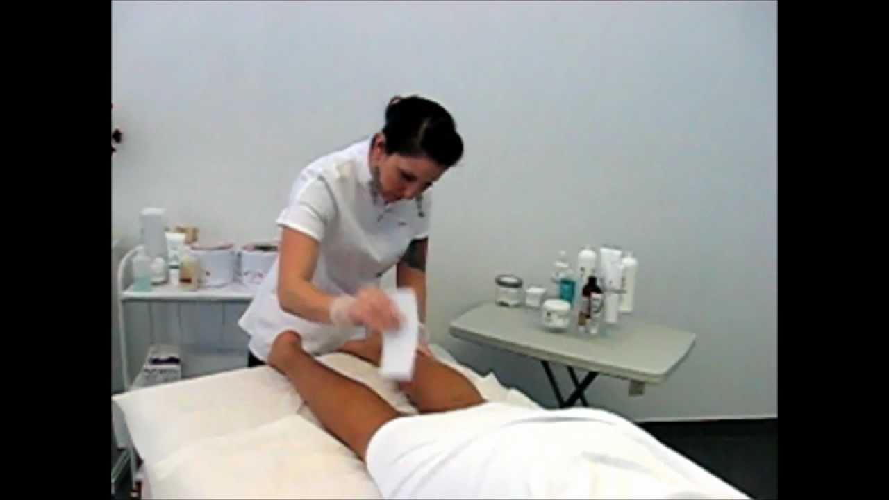 Brazilian waxing of a big cock part 10 she smears extra crea - 1 part 5