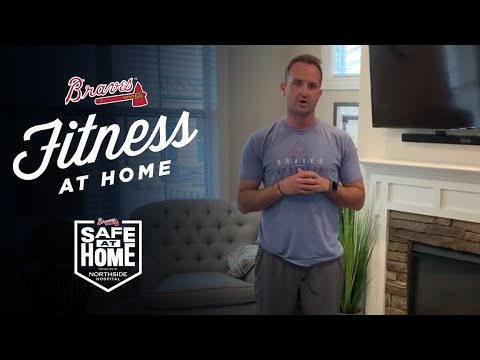 Fitness At Home With Atlanta Braves Performance Coach | Core Workout