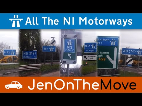 How Long Does It Take To Drive Every Motorway In Northern Ireland?