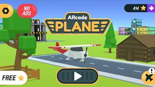 Arcade Plane 3D - Android gameplay