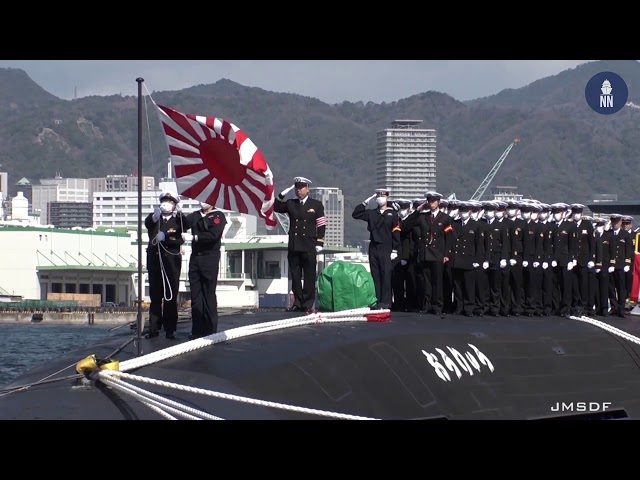 Japan Commissions its 1st Li-Ion Battery Submarine SS-511 JS Ōryū おうりゅう JMSDF