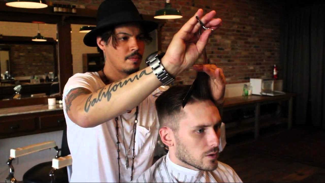 David Beckham  Nick Wooster Inspired Hairstyle  New 2013 Mens Short Haircut  YouTube