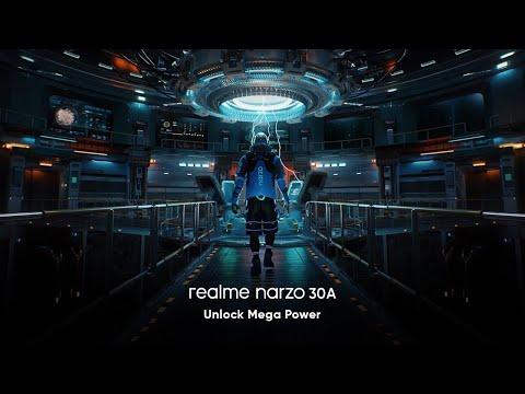realme narzo 30 A | Unlock Mega Power