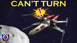 Why SPACESHIPS CAN'T TURN as shown in Science Fiction