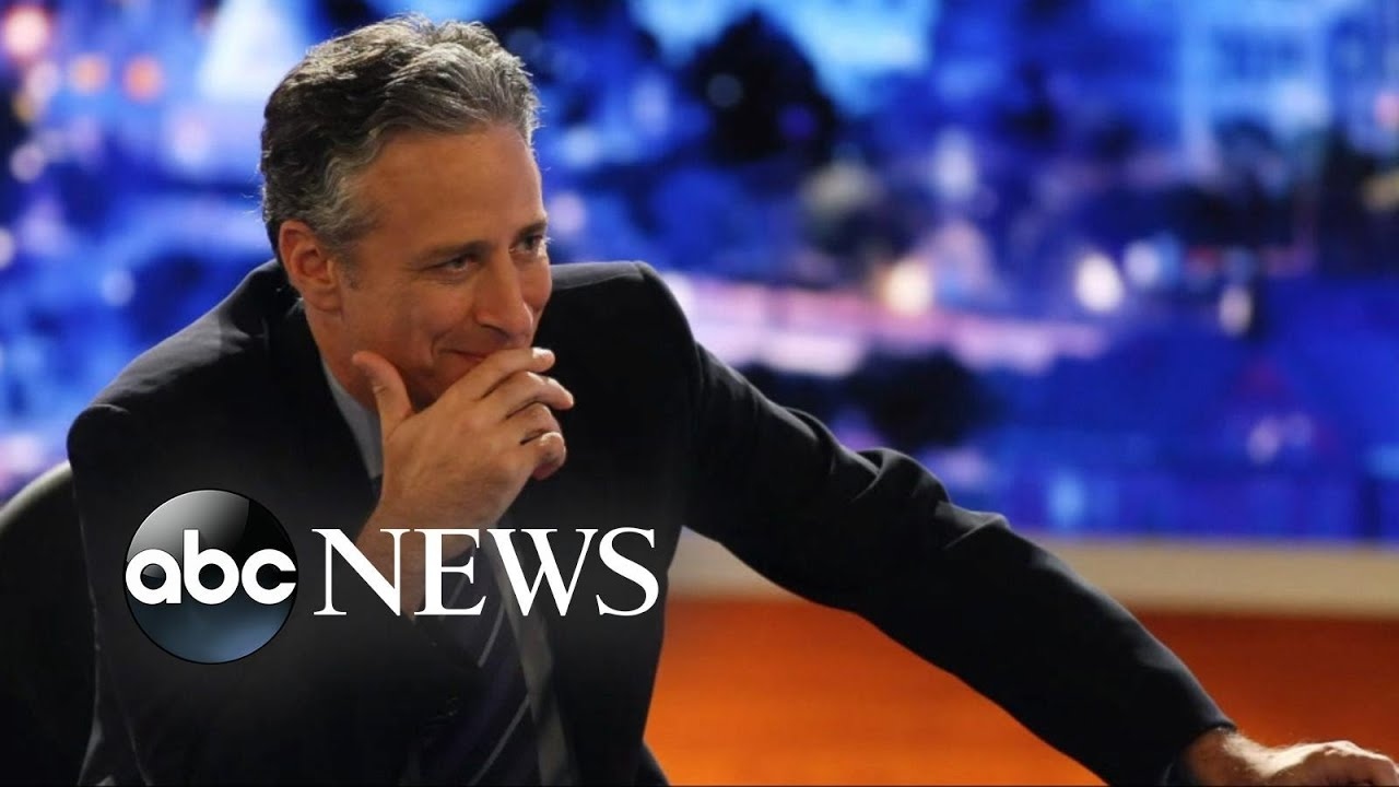 An End Of An Era Jon Stewart Says Goodbye To The Daily Show Youtube