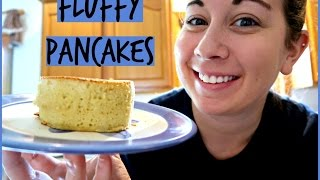 Fluffy Japanese Pancakes | TheChowDown