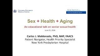 Sex + Health + Aging
