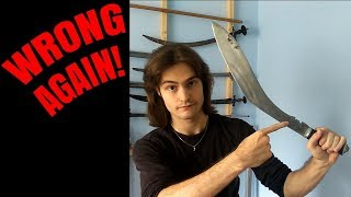How NOT to use the kukri notch! (COMMENT EDITION)
