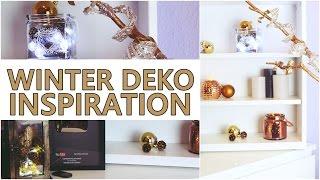 ❄️ WINTER DEKO - INSPIRATION / neuer Video-Hintergrund ❄️