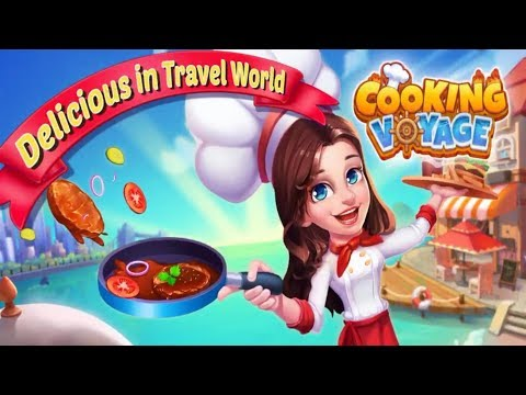 COOKING VOYAGE Gameplay New OFFLINE Restaurant Dash Android Games 2019