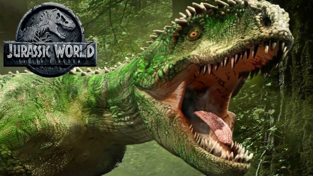 giganotosaurus appearance leak jurassic world fallen