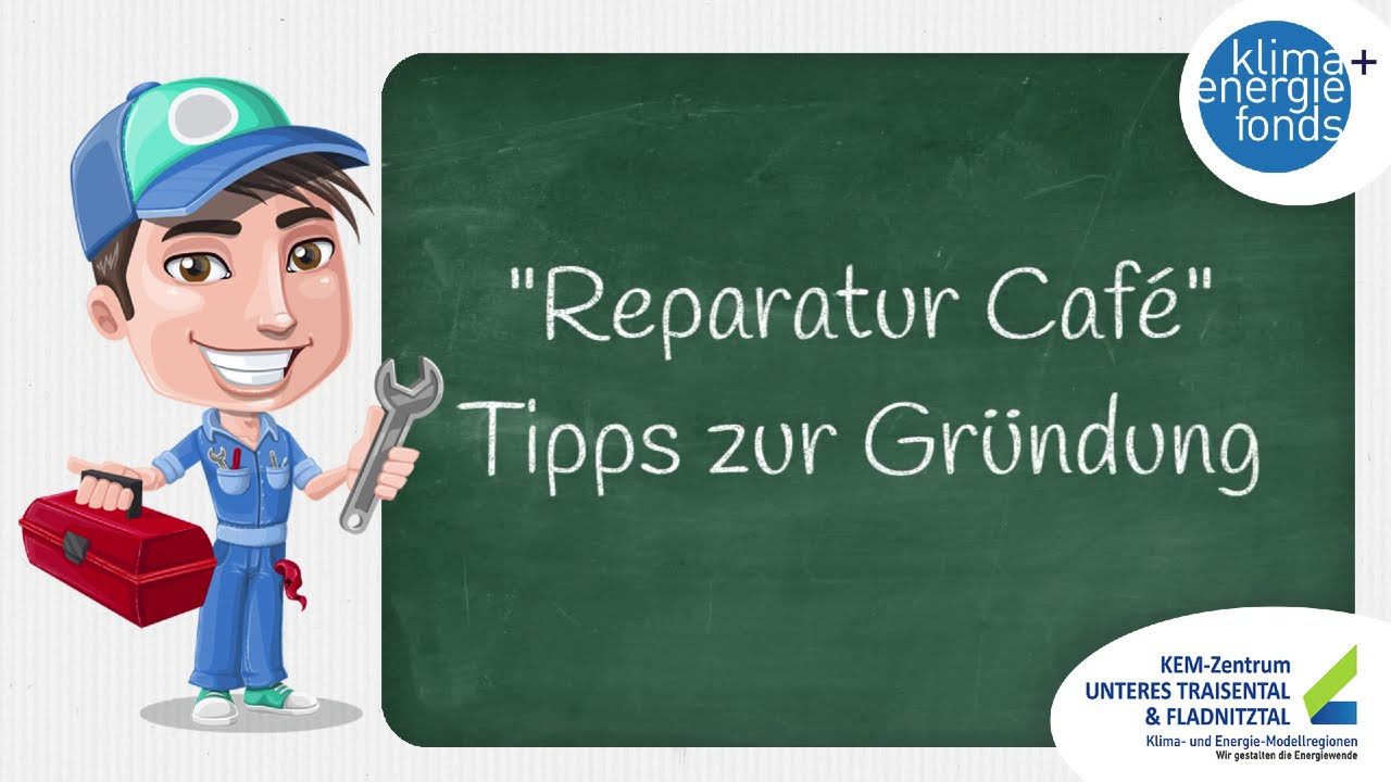Reparatur Cafe in der KEM Unteres Traisental & Fladnitztal - Teil 2