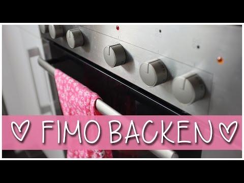 FIMO Modelliermasse Richtig BACKEN | ANFÄNGER BASIC GRUNDLAGEN