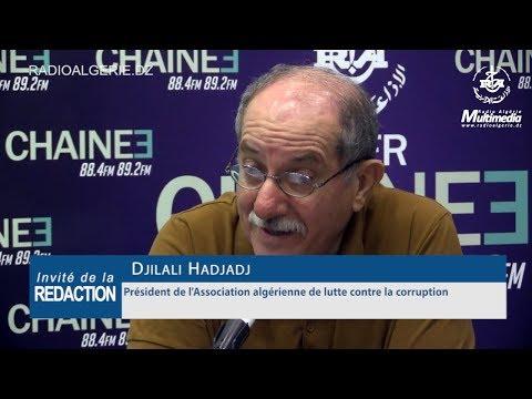 Djilali Hadjadj Président de l'Association algérienne de lutte contre la corruption