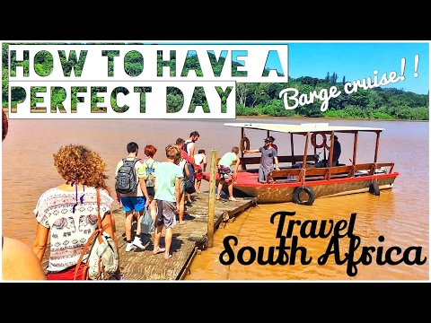 We had a perfect day on this barge cruise in South Africa • REAL TRAVEL VLOG