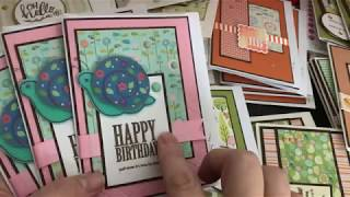 I killed another 6x6 Paper Pad, 47 cards!