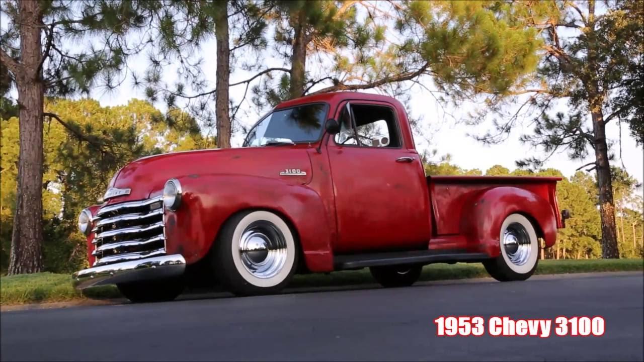 1953 Chevrolet 3100 1/2 ton truck - YouTube