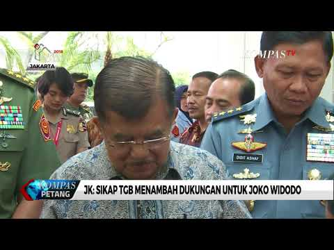 JK: Sikap TGB Menambah Dukungan untuk Jokowi