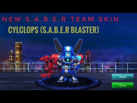 NEW EPIC CYCLOPS SKIN (S.A.B.E.R BLASTER)