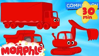 Download Big Truck Cartoons with Morphle! -Animations for kids Mp3 and Videos