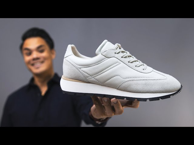 BEST White Sneaker Style? UNBOXING the KOIO Retro Runners Cloud (on feet + 1st impressions)