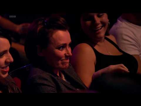 Keeley Hawes in the audience of Live at the Apollo