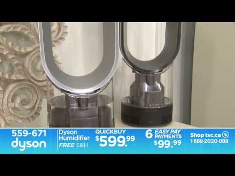 How to Improve the air in your home with a Dyson Humidifier