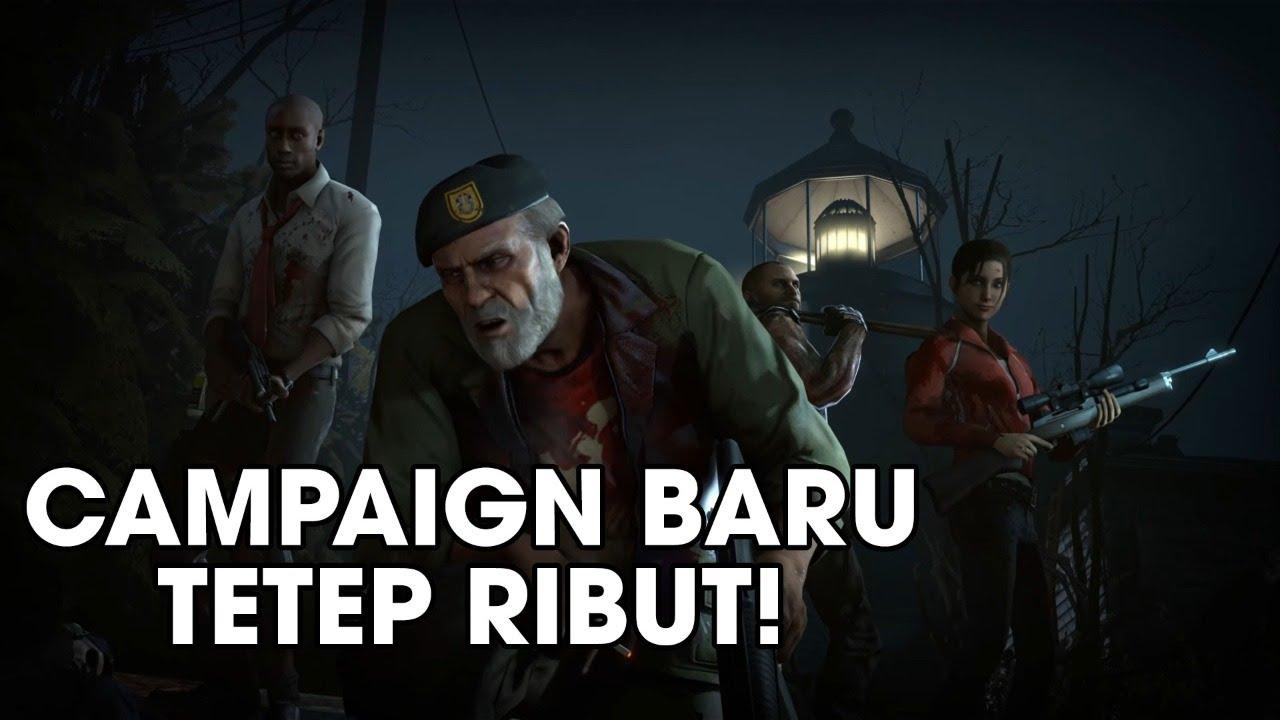 Coba The Last Stand Left 4 Dead 2 | Contoh dari Teamwork!
