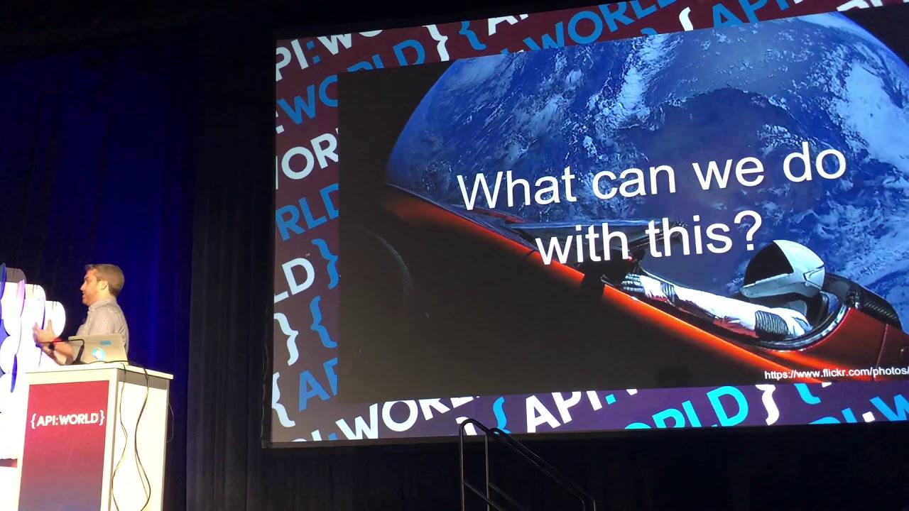 AWS API Keynote of API World 2018