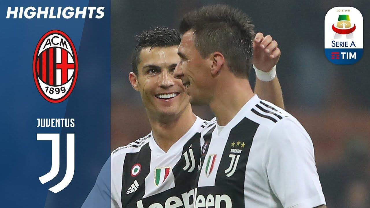 Download Milan 0-2 Juventus | Decidono Mandžukić e Ronaldo: la Juve vola a San Siro | Serie A