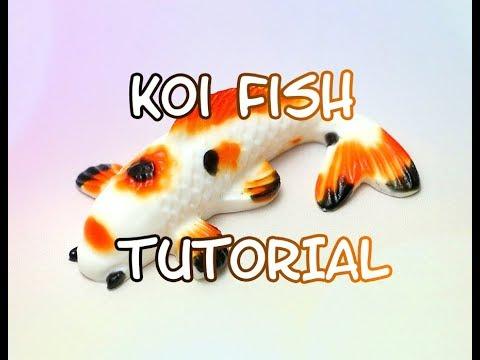 Jelly koi fish tutorial rybka koi z elatyny youtube for Koi youtube