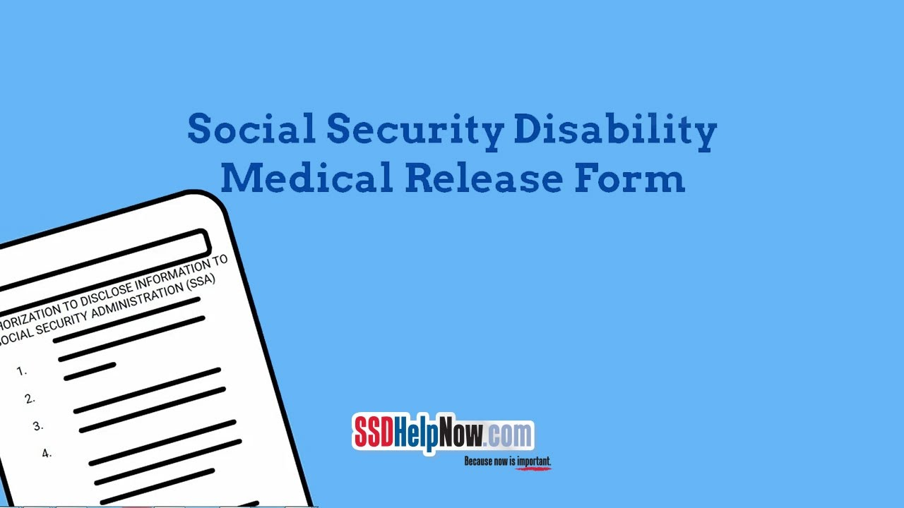 photo regarding Social Security Disability Application Form Printable referred to as SSA-827 - Disability Clinical Launch Kind