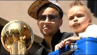 Warriors Parade In Oakland Brings Championship Joy To Bay Area