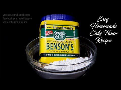 Easy Homemade Cake Flour Recipe