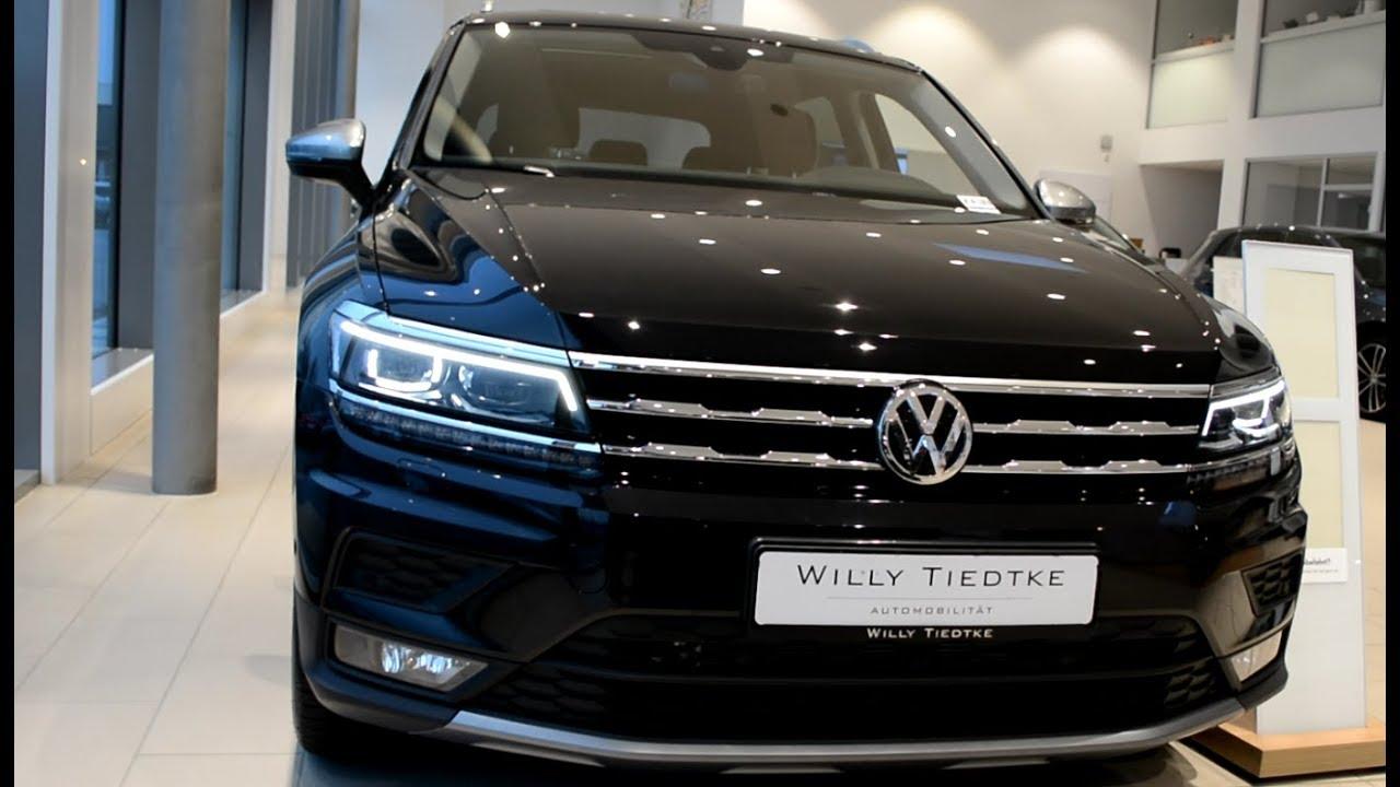 2019 Volkswagen Tiguan Overview, Interior & Exterior >> 2019 New Vw Tiguan Allspace Exterior And Interior