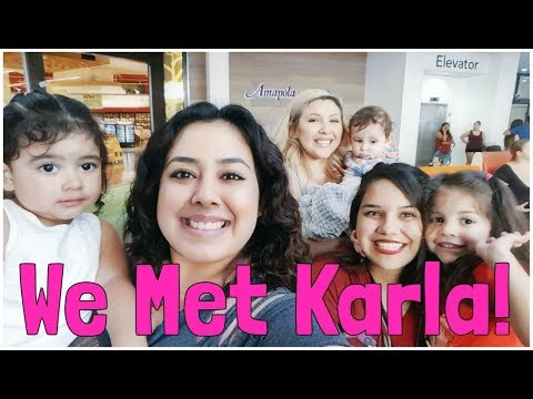 We Finally Met Karla! | Rebecca Borda